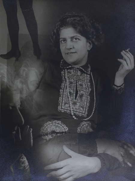 Self portrait of Gerty Simon