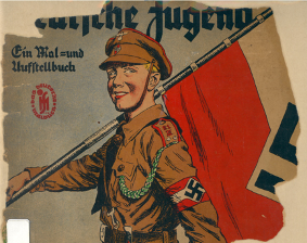 Image of book cover promoting the Hitler Youth