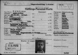 Prisoner record card