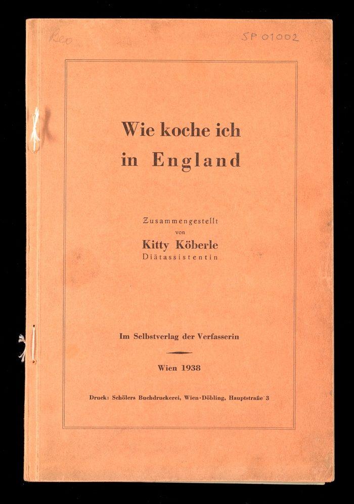 Cover of Wie Koche Ich England
