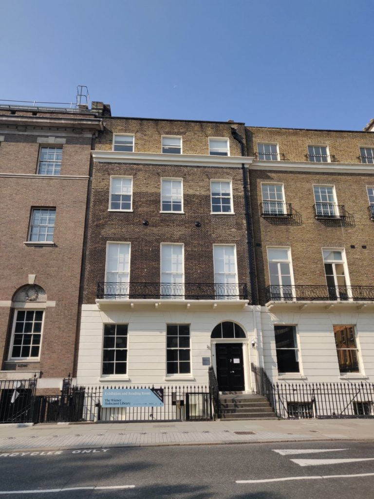 Exterior of 29 Russell Square