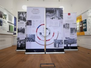 Panels from the Pogrom exhibition