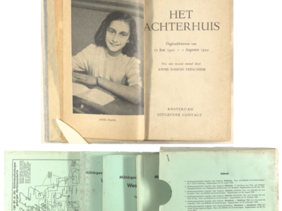 Anne Frank's Diary & plans of Operation Sea Lion
