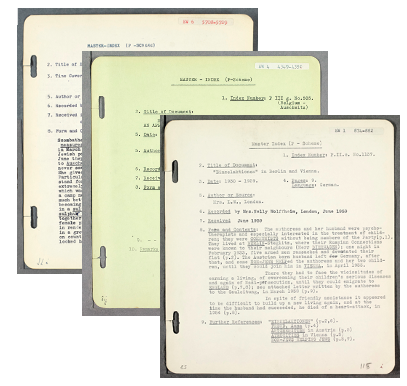 Survivor accounts from the Library's digital database