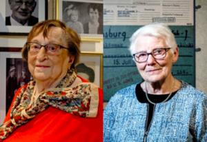 Two women - portrait images.