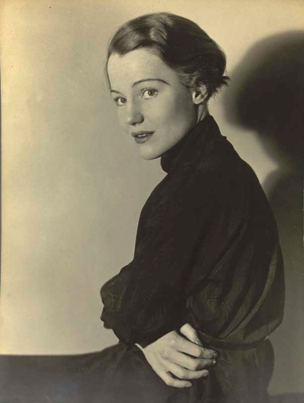 Constance Cummings (1910-2005), actress bLondon, c.1934. She later took in two children from the Kindertransport rescue of Jewish children from mainly Germany and Austria.
