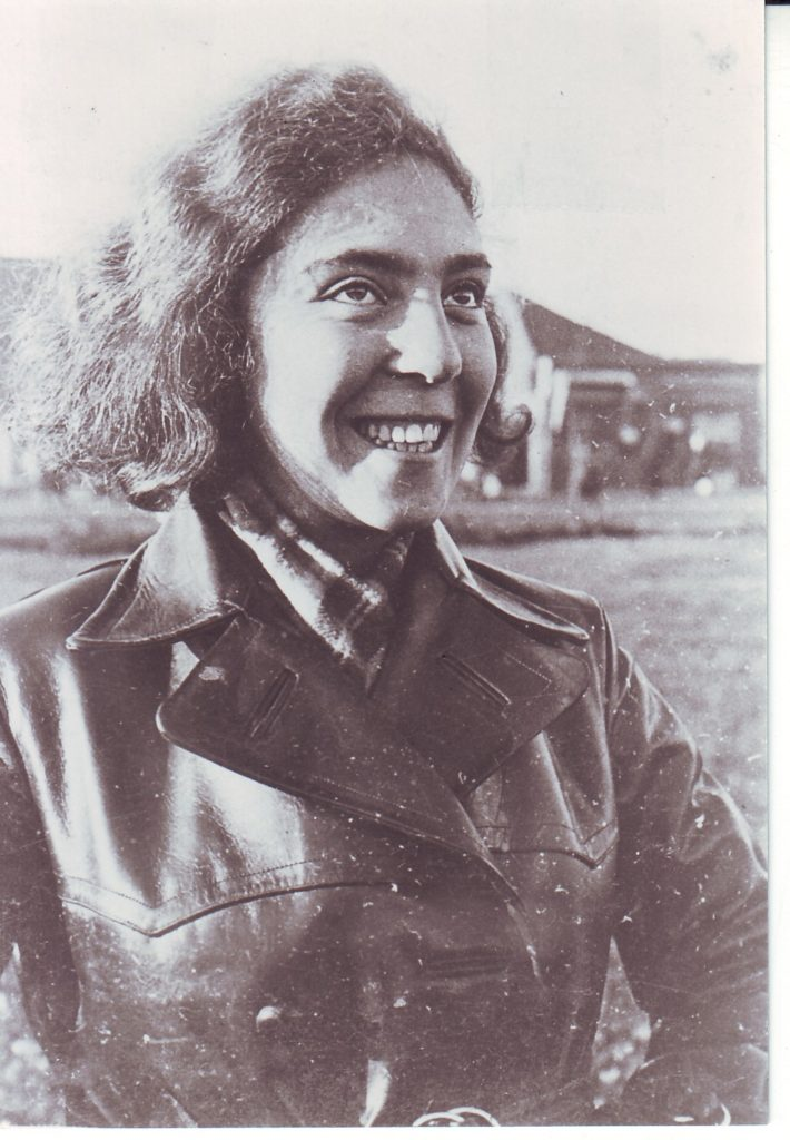 Tosia Altman, date unknown. Altman was a member of the socialist Zionist youth movement Hashomer Hatzair, who were instrumental in organising the Warsaw Ghetto Uprising. Courtesy of the Moreshet Archive – do not reproduce without permission.