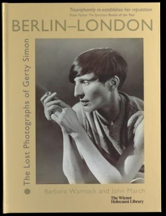 Berlin-London: The Lost Photographs of Gerty Simon exhibition catalogue