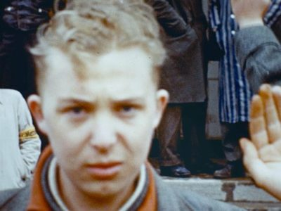 Image of young man taken during the Second World War