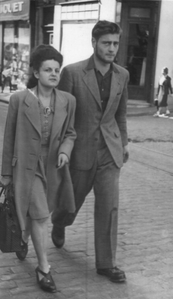 Two members of the French resistance during the Second World War