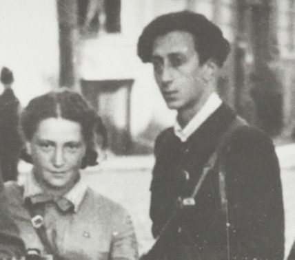 Two of the leaders of the 'Avengers', Rozka Korczak (left) and Abba Kovner (