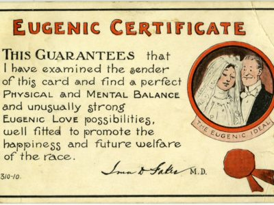 A Round Table Discussion: Confronting Eugenics: Between Word and Image