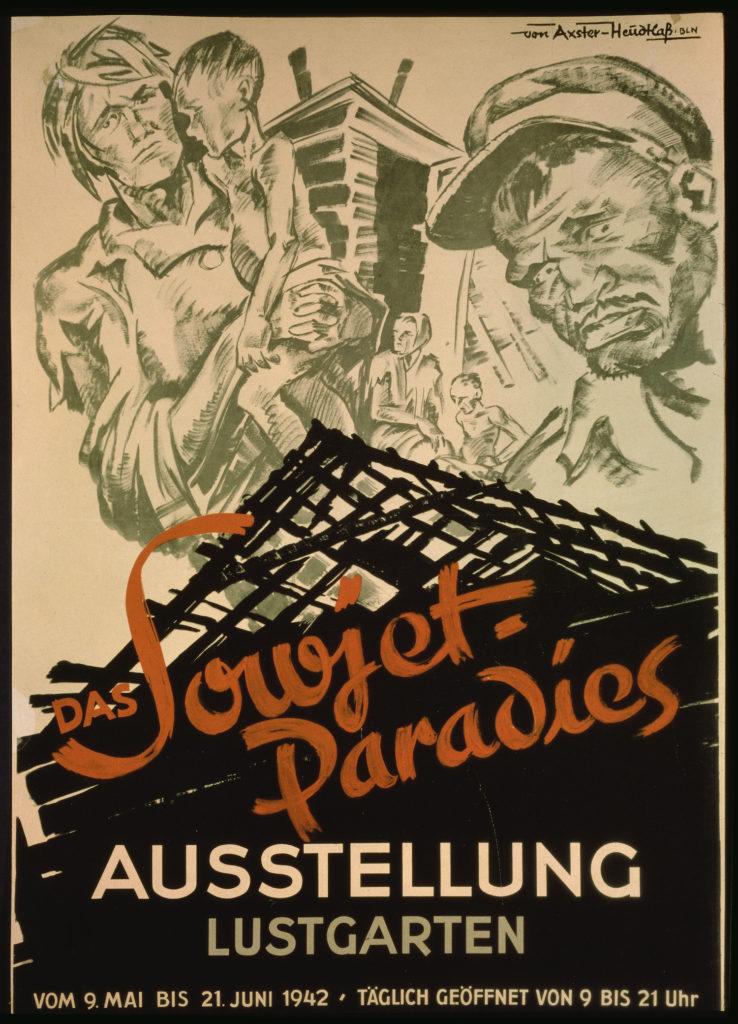 An anti-Soviet Nazi propaganda poster
