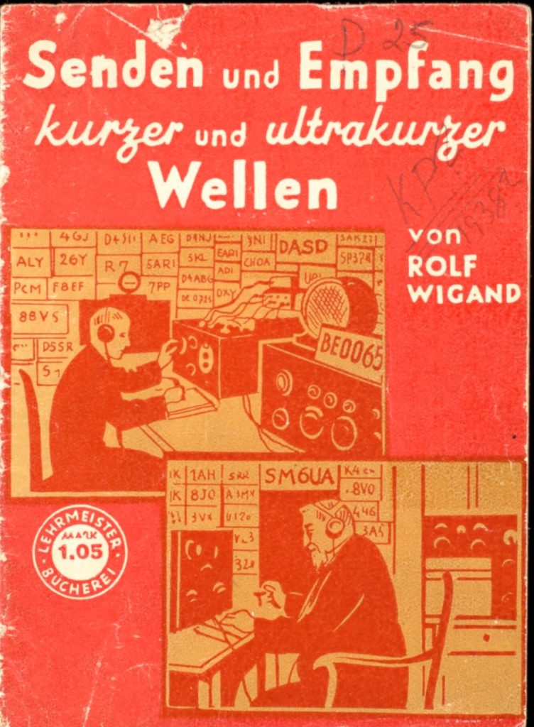 An old pamphlet instructions on building and operating a wireless