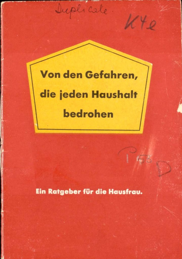 Cover of antisemitic pamphlet but which includes anti-Nazi resistance material concealed inside.