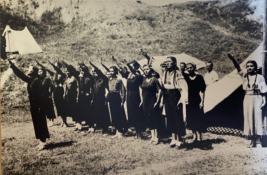 A group of Romanian fascist women, 1930s
