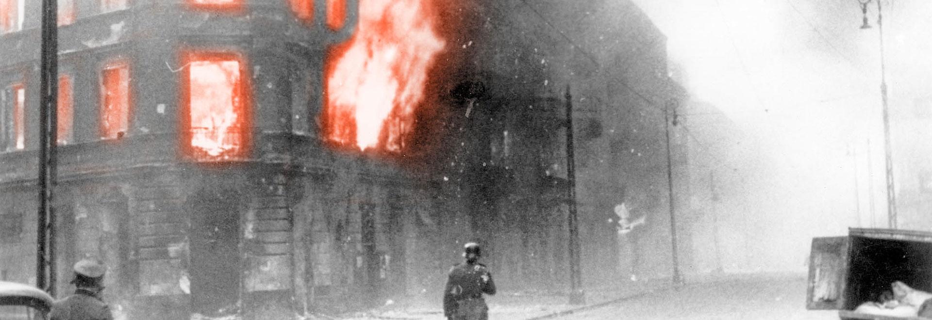 destruction of Warsaw Ghetto